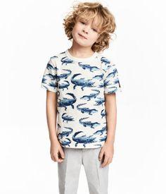 770cebda53f Printed T-shirt Model Crocodile T Shirts