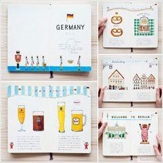 Los cuadernos de viaje de la ilustradora Yoshie Kondo - Noveno Ce