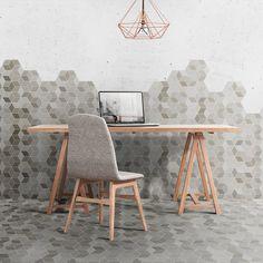 Tiles Expo - Minima Hexagons by Quintessenza