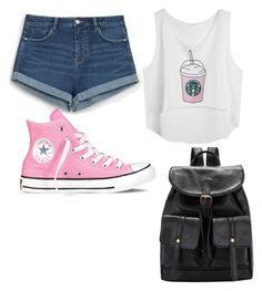 """Untitled #2"" by darcydramsey on Polyvore featuring Zara and Converse"