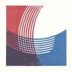 James Brown lino cut - L
