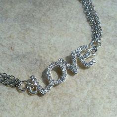 Handmade Nwot Love Bracelet