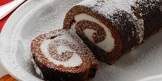 Ρολό σοκολάτας με στραγγιστό γιαούρτι