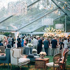Glamorous Backyard Wedding in Mississippi: The Reception
