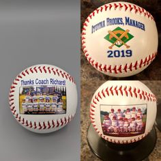 Sports Gifts Personalized Are Fantastic - Get on the Ball Photos Baseball Gifts, Sports Gifts, Baseball Mom, Coach Gifts, Personalized Gifts, Birthdays, Great Gifts, Party Ideas, Holiday