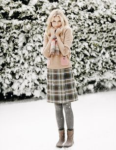 A stylish twist on a Scottish classic. #boden #snowedin