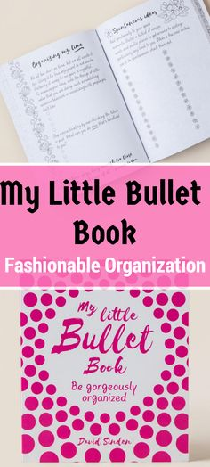 My Little Bullet Book: An easy-to-use and beautifully-designed journal to keep track of projects, goals, and every day tasks. My Little Bullet Book is a creative and productive organizational system that combines your sketchbooks, coloring books, planner, to-do lists, and journals all in one place. #bulletjournals #bujo #bulletjournaljunkies #ad