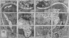 """A finals de maig de 2003, la Biblioteca del Congrés va completar la compra de l'única còpia supervivent de la primera imatge de la silueta dels continents del món com el coneixem avui en dia, el monumental mapa del món de Martin Waldseemüller de 1507.El mapa ha estat esmentat en diversos cercles com certificat de naixement dels Estats Units i per una bona raó: és el primer document en què hi apareix el nom """"Amèrica"""" ."""
