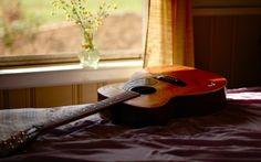 acoustic guitar free desktop wallpaper (Clarissa Turner 1920 x Guitar Pics, Music Guitar, Playing Guitar, Acoustic Guitar, Wallpaper 1920x1200, Uhd Wallpaper, Music Wallpaper, Interior Design Hd, Calming Music