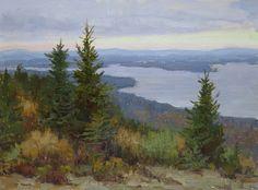 Summit Sunrise by Kathleen Dunphy Oil ~ 12 x 16