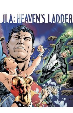 #Justice #League #Fan #Art. (DC COMICS PRESENTS JLA: HEAVEN'S LADDER #1) By:Bryan Hitch. [THANK U 4 PINNING!!]