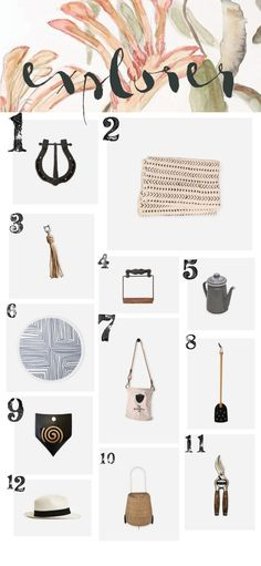 Christmas Gift Guide | Explorer | The Society Inc by Sibella Court