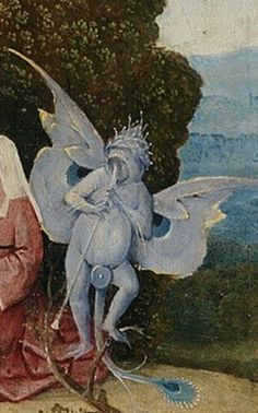 Detail from The Hay Wagon, Hieronymus Bosch