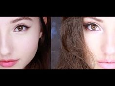 Hiii ^__^ So this would be the first time I put two makeup tutorials in one video! I have to say, after filming this I'd think American makeup suits my face ...