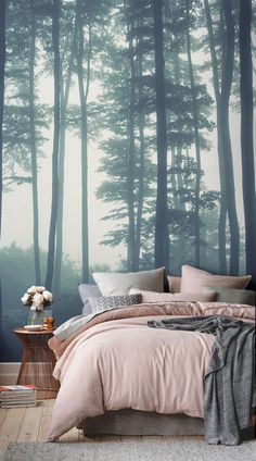 Create A Moody Ambience In Your Home With These Misty Forest Wallpapers