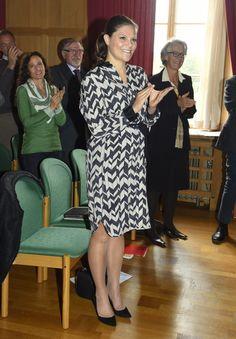 Kronprinsessan Victoria gravidklänning