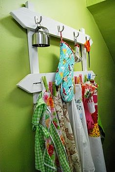 Great rack idea!  Make it double sided (like an upside down v) and hinge at top.