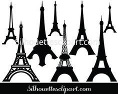 Incredibly detailed view of the most famous Eiffel Tower Silhouette Vector here for your hilarious designs of famous monument icons with EPS and JPEG files. Eiffel Tower Clip Art, Eiffel Tower Silhouette, Silhouette Clip Art, Silhouette Cameo Projects, Building Silhouette, Free Silhouette, Famous Monuments, Famous Landmarks, Paris Clipart