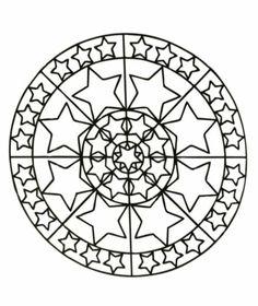 Mandala Zu Weihnachten Ausmalbilder Als Geschenkideen Coloring PagesColoring