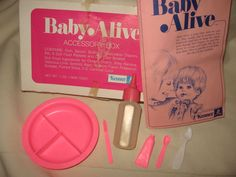 Baby Alive accessories.