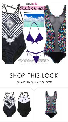 """NewChic.com"" by vict0ria ❤ liked on Polyvore featuring newchic"