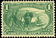Stamp - Jacques Marquette was honored on the one cent Trans-Mississippi Exposition Issue, which shows him on the Mississippi River Old Stamps, Rare Stamps, Mississippi, Commemorative Stamps, Stamp Collecting, Postage Stamps, American History, Vintage World Maps, Poster