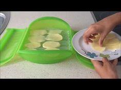 Papas fritas en estuche de vapor Lekue - YouTube Patatas Chips, Tupperware, Ice Cube Trays, Bon Appetit, I Foods, Plastic Cutting Board, Menu, Vegetables, Cooking