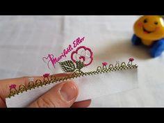 Farklı Bir Gül Modelinin Anlatımlı Yapılışı - YouTube Filet Crochet, Knit Crochet, Point Lace, Needle Lace, Tatting, Diy And Crafts, Embroidery, Moda Emo, Youtube