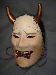 Noh mask Namanari-3