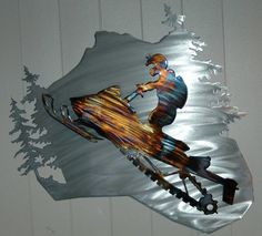 Unique metal expressions handmade in Canada. Tree of Life, Infinity Tree, Love Lock Tree, Large Wall Art, Yoga Decor. Polaris Snowmobile, Lower Lights, Dirt Bike Girl, Girl Motorcycle, Motorcycle Quotes, Winter Fun, Metal Wall Art, Sled, Metal Working