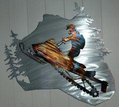 Snowmobile  Wall Art by Humdinger Designs.....www.humdingerdesigns.com
