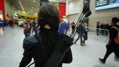 """Starbit Cosplay as Katniss Everdeen, the Mockingjay video source 1 2 """
