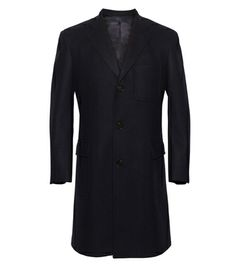 What to Wear During a Blizzard: The Dark Coat (by Club Monaco)