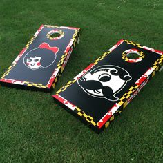 Maryland frame boh/utz boards for a wedding!