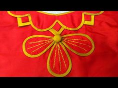Blouse Design - YouTube Patch Work Blouse Designs, Cutwork Blouse Designs, Saree Blouse Neck Designs, Simple Blouse Designs, Stylish Blouse Design, Chudi Neck Designs, Dress Neck Designs, Churidar Neck Designs, Kurta Neck Design