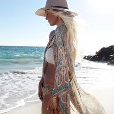 Soundless Coast Sheer Cover Up