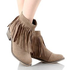 Fringe Round Toe Cowgirl Vegan Suede Ankle Women's Boots ... http://www.amazon.com/dp/B017CLVX7S/ref=cm_sw_r_pi_dp_e1Yvxb1V0BNG1