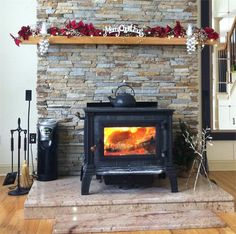HearthStone Equinox Wood Stove Idea for Pellet Stove! My Home, Wood, Wood Stove Fireplace, Hearth, Wood Burner, Remodel, Pellet Stove Hearth, Wood Burning Stove, Fireplace