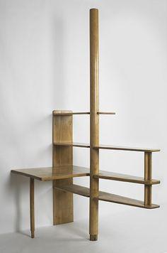 // Alvar Aalto, Birch Shelving for Baker Dormitory at MIT by Svenska Artek, c1948.