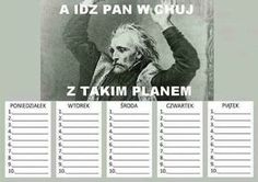 School Plan, Back 2 School, School Organisation, Organization, Polish Memes, Lol, School Hacks, Man Humor, Funny Cute