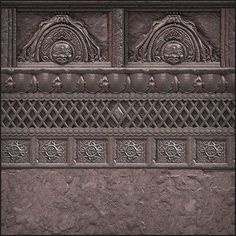 Zbrush and Mudbox Sculpts - Texture and Shader Game Textures, Textures Patterns, Pillar Design, Stone Statues, Illustration Techniques, 3d Texture, Digital Art Tutorial, Elements Of Design, Metroid