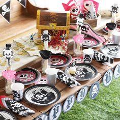 My Little Party Blog: Fiesta de Piratas para niñas con mucho estilo