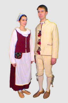 Säkkijärvi folk dresses, Finland