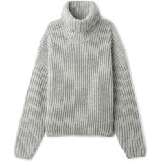 Anglica Sweater (255 PLN) ❤ liked on Polyvore featuring tops, sweaters, tall sweaters, boxy sweater, short-sleeve turtleneck sweaters, bat sleeve sweater and loose turtleneck sweater