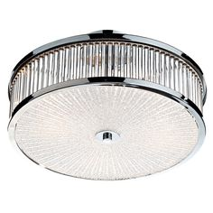 This Dar Aramis 3lt Flush Fitting comes with a Patterned glass diffuser and a glass rod decoration to the side finished in a Polished Chrome. Dar ARA5250