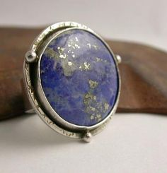 Lapis Starry Sky Ring by Simply_Adorning, via Flickr