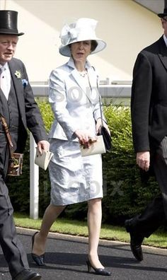 The Royal Order of Sartorial Splendor: Royal Fashion Awards: Ascot 2011, Day 1 Princess Anne