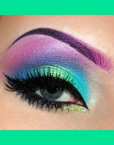 ideas music festival makeup ideas urban decay Ideen Musik Festival Make-up Ideen urban Makeup Inspo, Makeup Art, Makeup Inspiration, Makeup Tips, Beauty Makeup, Hair Makeup, Makeup Ideas, Rave Eye Makeup, Peacock Eye Makeup