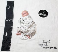 Lulujo Milestone Blanket Set