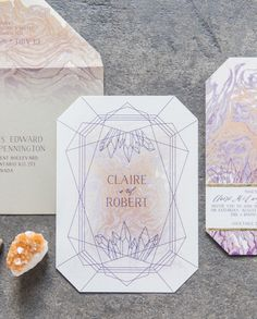 Shape up your wedding stationery suite with geometric wedding invitations. These ideas are cool and stylish. Click through for inspiration for your wedding paper goods. Wedding Paper, Wedding Cards, Our Wedding, Dream Wedding, Budget Wedding, Wedding Ceremony, Wedding Themes, Wedding Decor, Wedding Stationary
